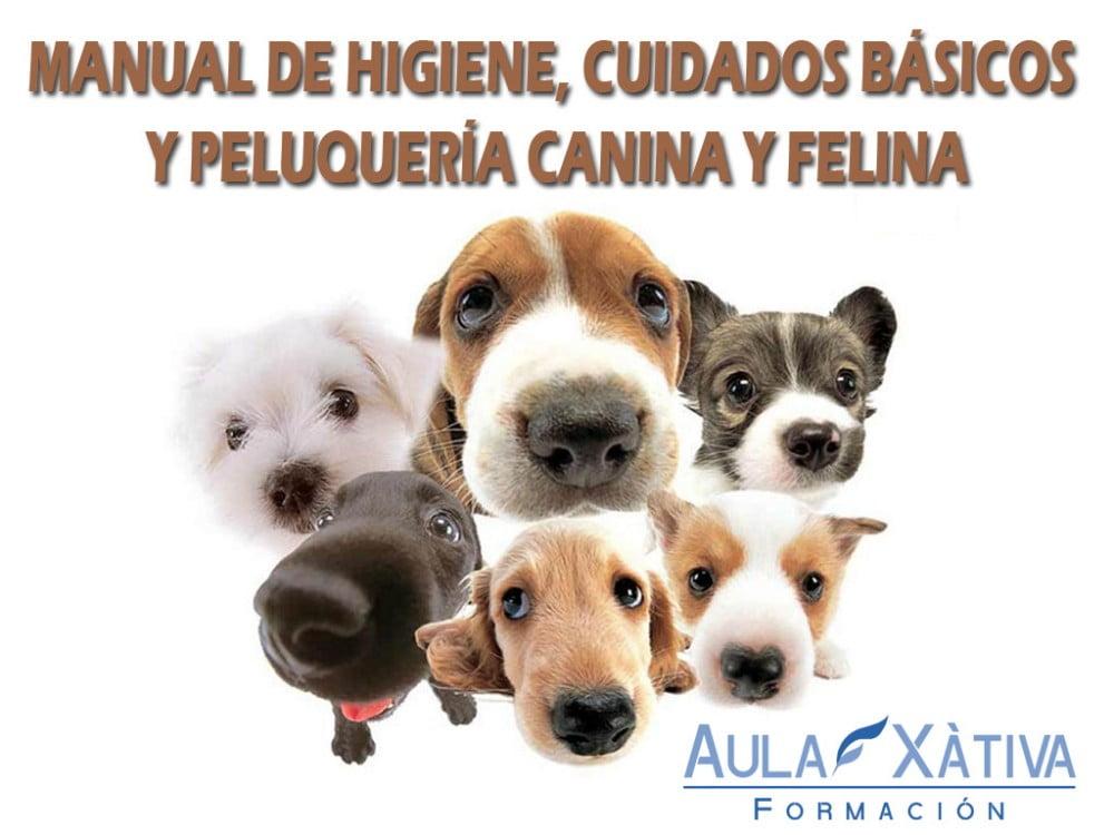 Manual higiene y peluquería canina