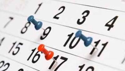 Calendario Formativo Aula Xàtiva