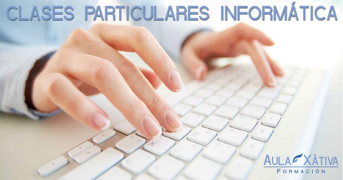 Clases particulares informática en Xàtiva