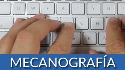 Clases de mecanografía en Xàtiva