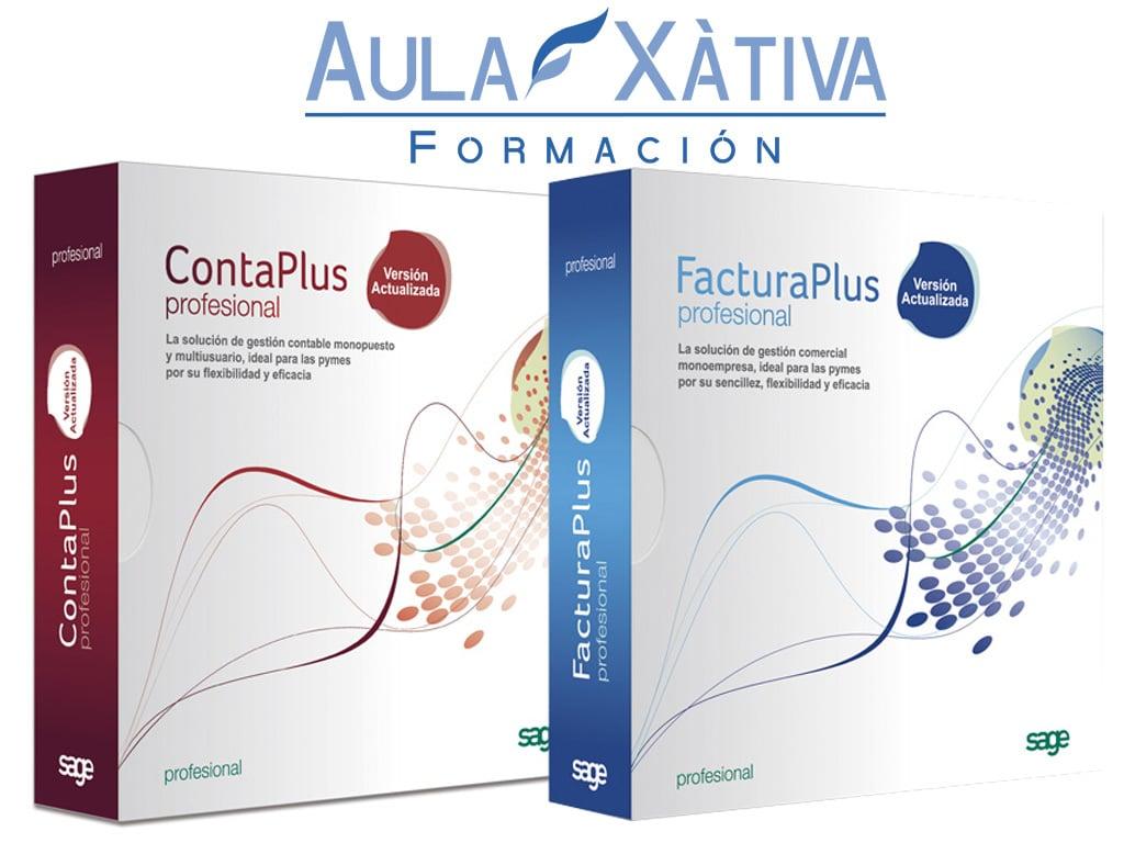 Curso de Contaplus y Facturaplus 2012, 2013, 2014, 2015 y FLEX