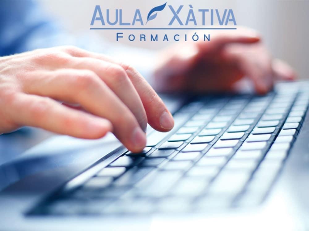 Curso de mecanografía en Xàtiva