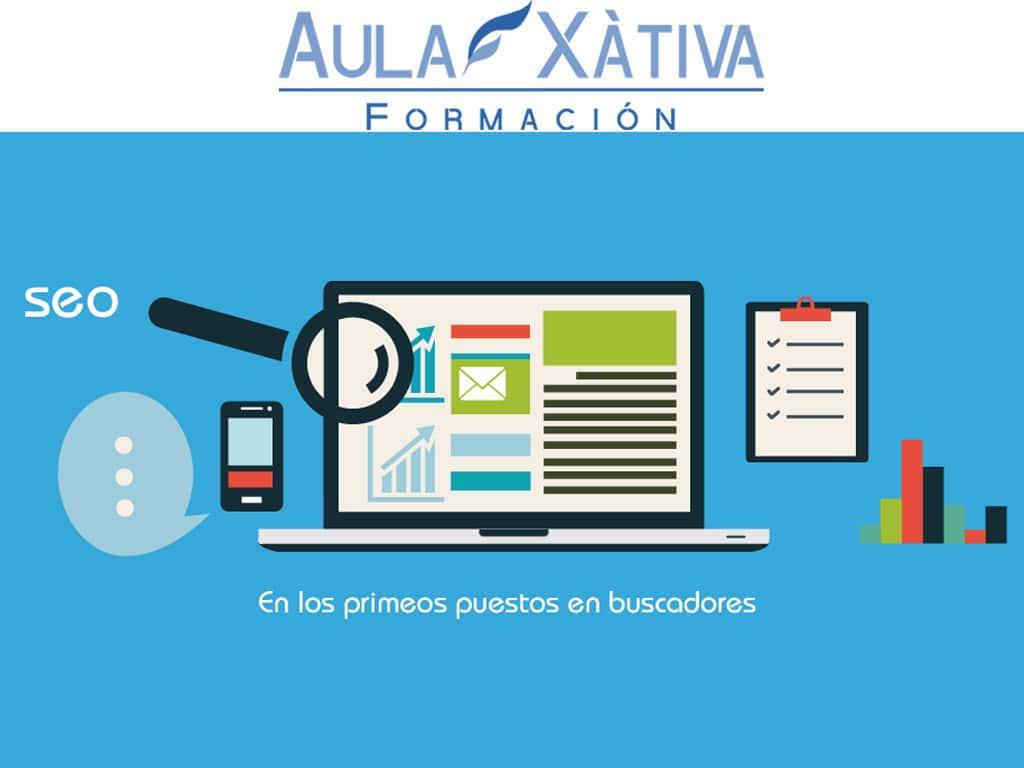 huge discount 7eb94 02b8a Curso de Posicionamiento Web SEO y SEM   Aula Xàtiva Formación