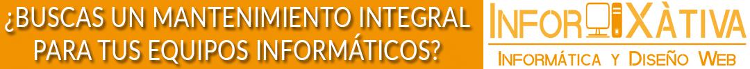 Infor Xàtiva tienda informática