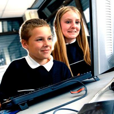 Curso de informática para niños y jóvenes