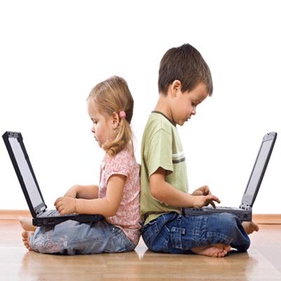 Mecanografía para niños y jóvenes