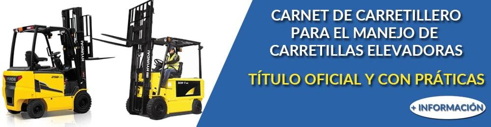 Carnet de carretillero - Carretilla elevadora