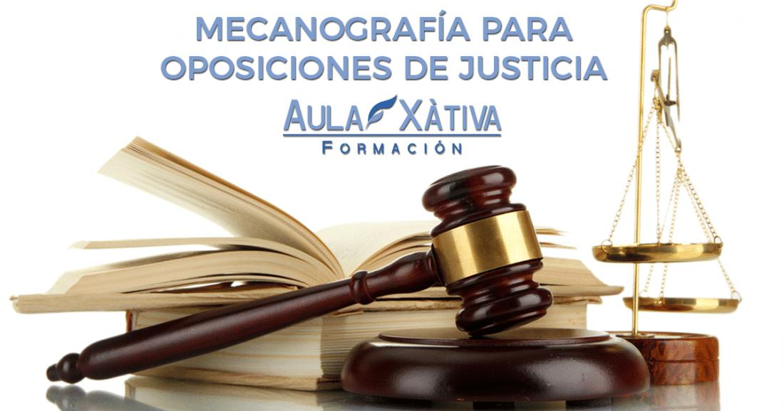 Mecanografía para oposiciones de justicia