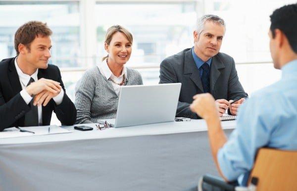 Comunicación no verbal en entrevista de trabajo