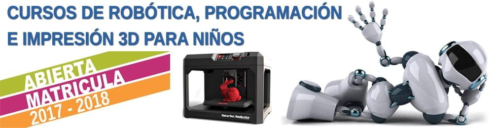 curso de robótica, programación e impresión 3d en Xàtiva