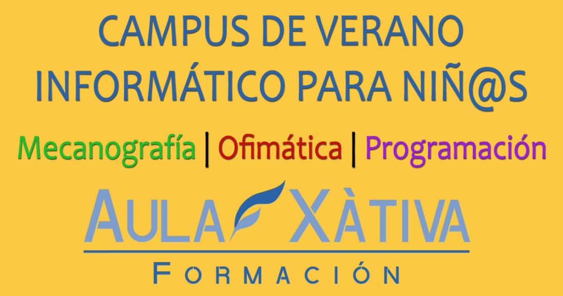 Campus de verano informática para niños
