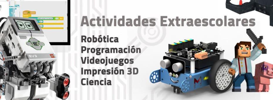 Cursos y talleres de programación y robótica para niños