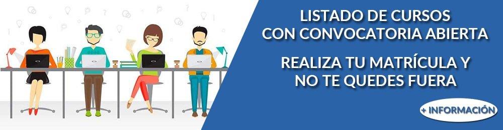 Cursos con convocatoria abierta en Xàtiva