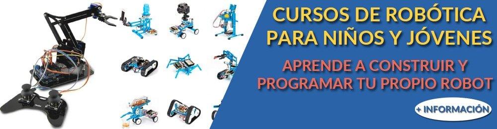 Cursos de robótica educativa para niños y jóvenes