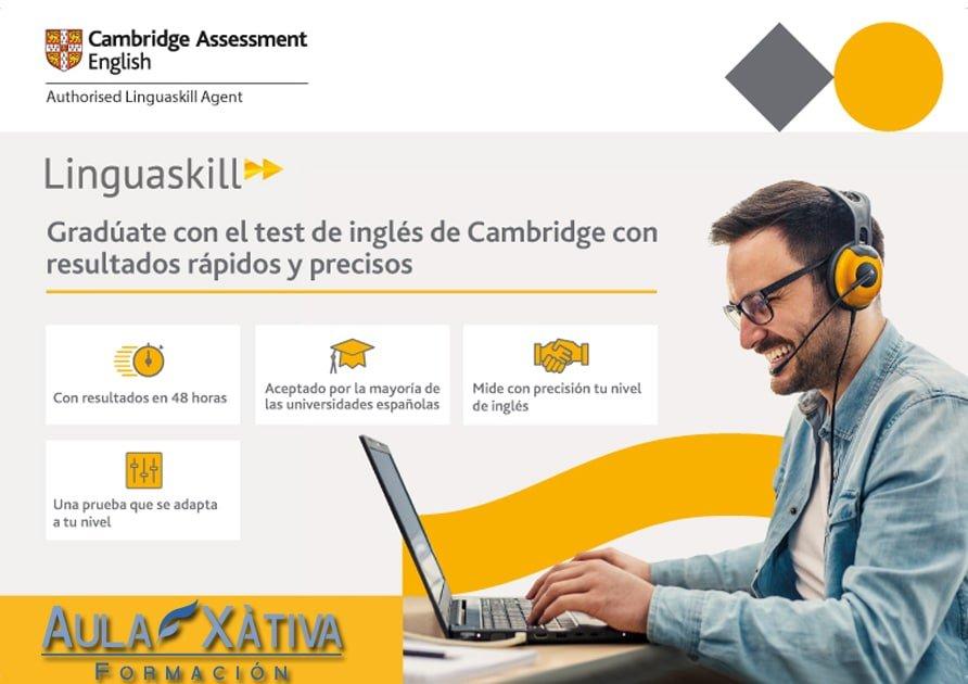 Centro oficial Cambridge Linguaskill en Xàtiva