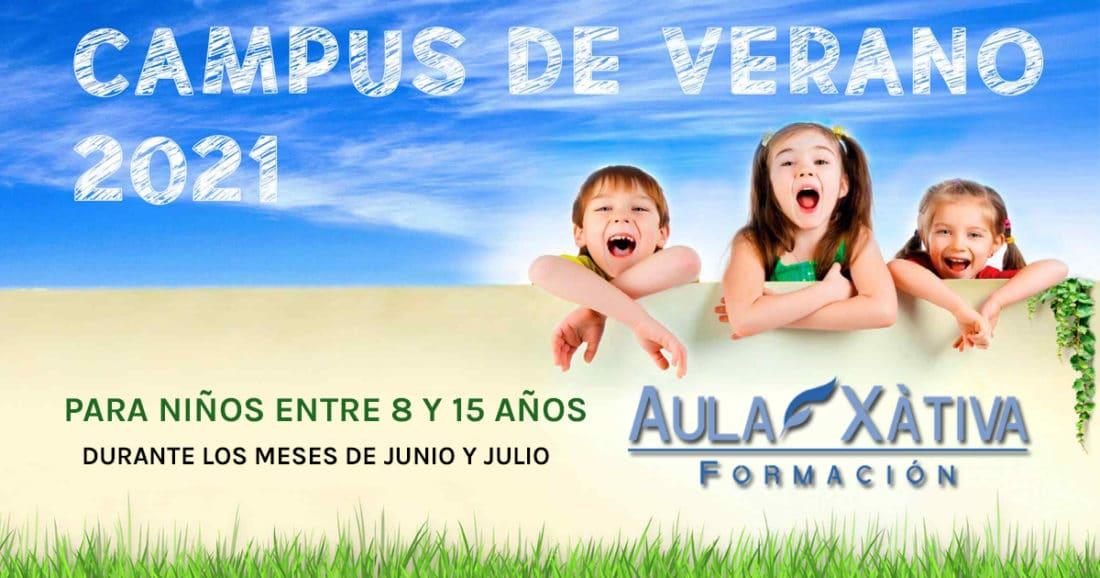 Campus de verano 2021 Aula Xàtiva